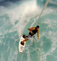 Richard-Hallman-Kiting-GoPro-Waves-Maui
