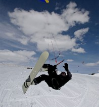 Jeff-Kafka-Snow-Kiting-Skyline-Ridge-Utah