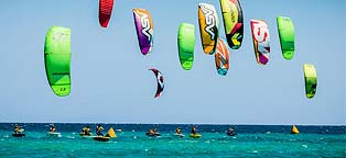 Wind Over Water Kiteboarding Camps in La Ventana Mexico
