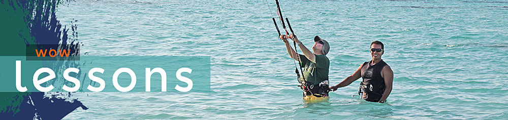 Beginning Kiteboarding Lessons