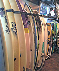Kiteboards & Surf Boards at Wind Over Water