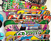 Skateboard Decks at WOW